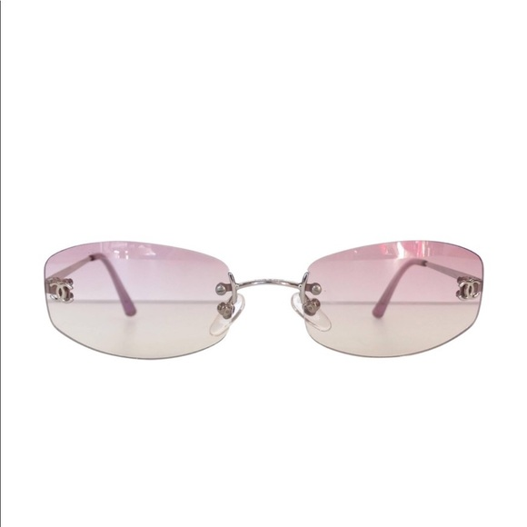 f54c5b83aaf24 CHANEL Accessories - CHANEL Rose Tinted Sunglasses
